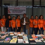 UTVM CELEBRA INTERCAMBIA LIBROS CON AMISTAD