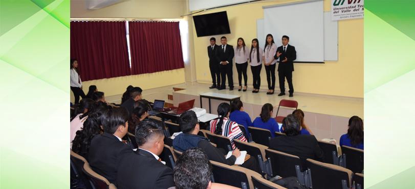 ESTUDIANTES DE LA UTVM PRESENTAN PROYECTOS INTEGRADORES