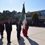 ESTUDIANTES DEL PROGRAMA DE EDUCACIÓN INCLUYENTE SON LOS ENCARGADOS DE DIRIGIR CEREMONIA CÍVICA