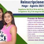 Reinscripciones abril 2021